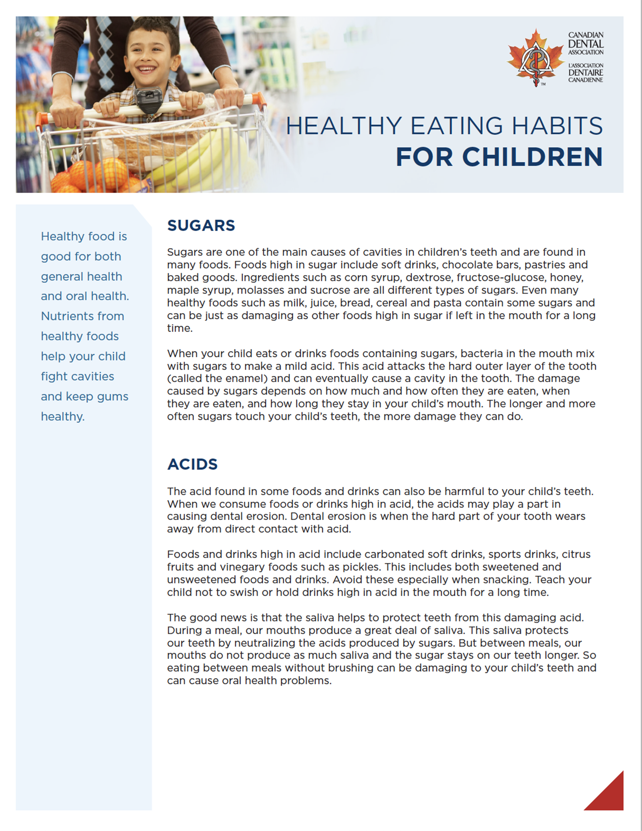 hockley dentistry - healthy eating habits for children thumbnail